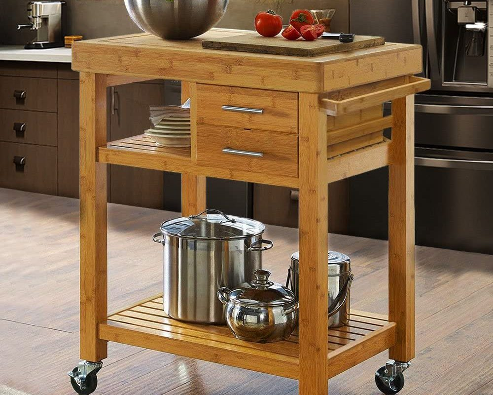 Kitchen Cart Cabinet – Attractive Design And Easy-To-Use!