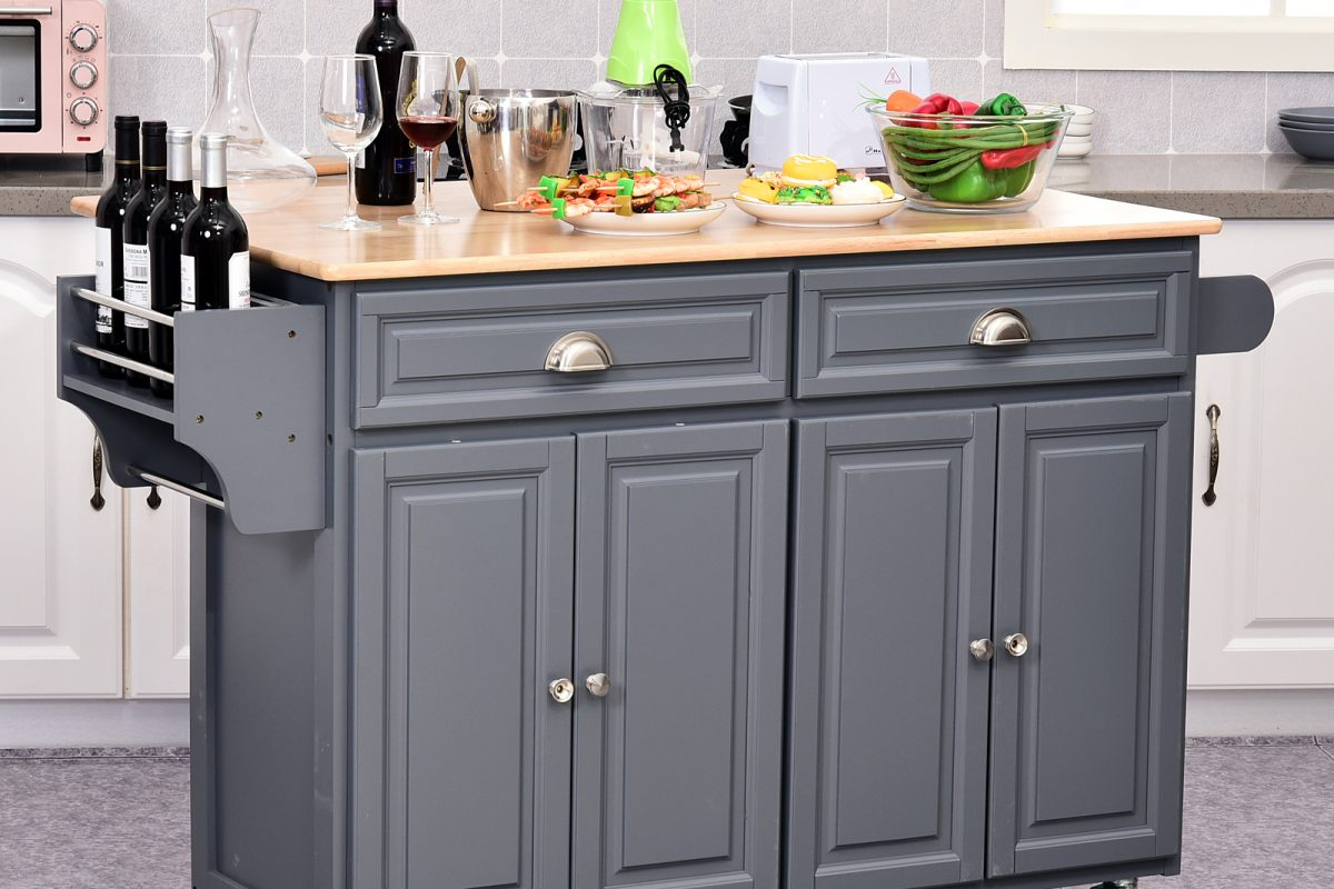 Kitchen cart adjustable shelves – An Additional Storage Space For Kitchen!